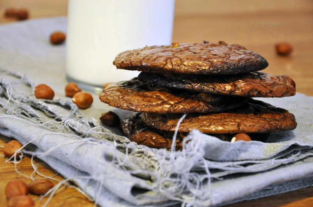 Extra čokoládové cookies