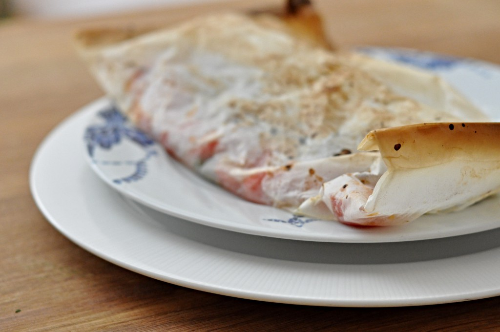 Ryba pečená v troubě