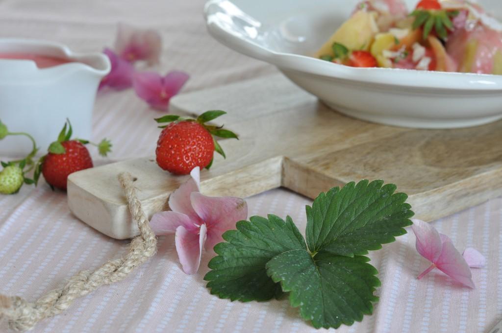 Tvarohové knedlíky s jahodami