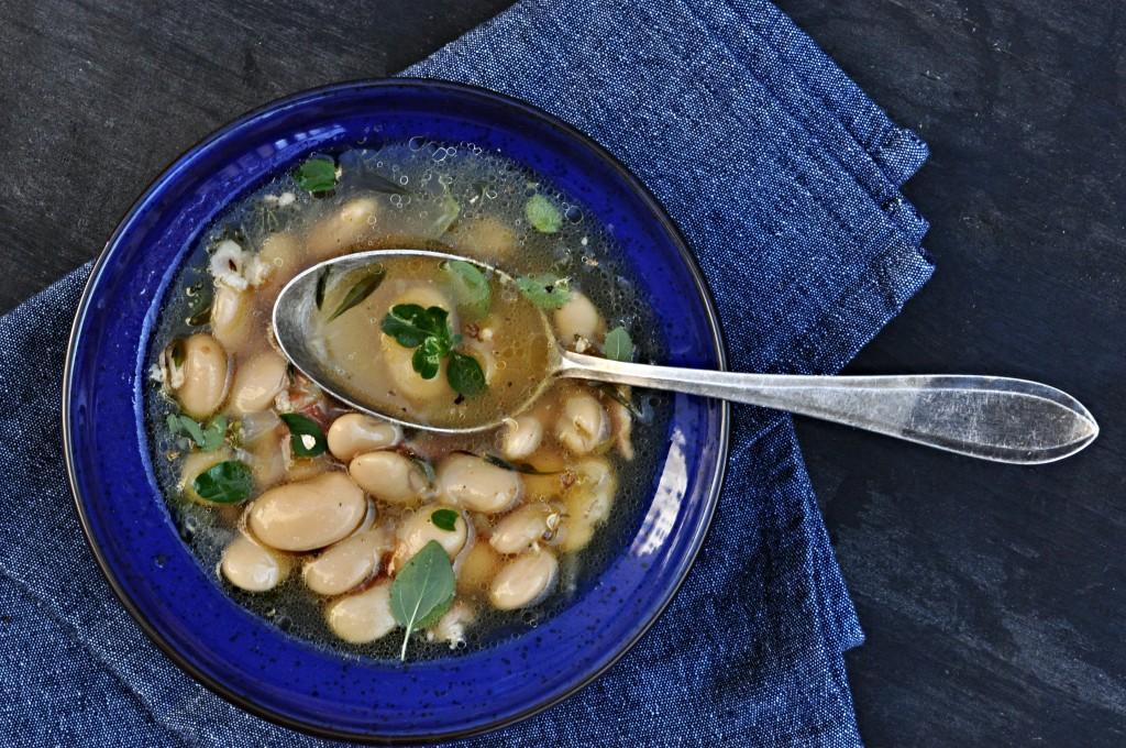Fazolová polévka domácí recept