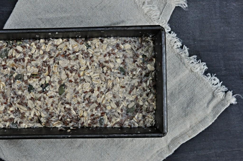 Ořechový a bezlepkový chleba