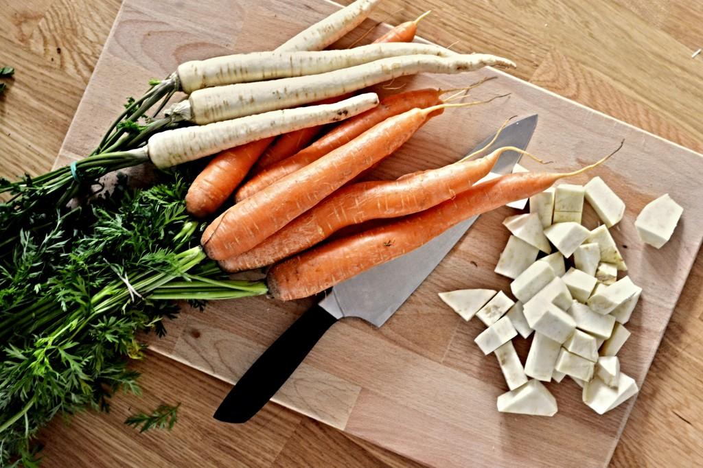 Kančí ragú s kořenovou zeleninou