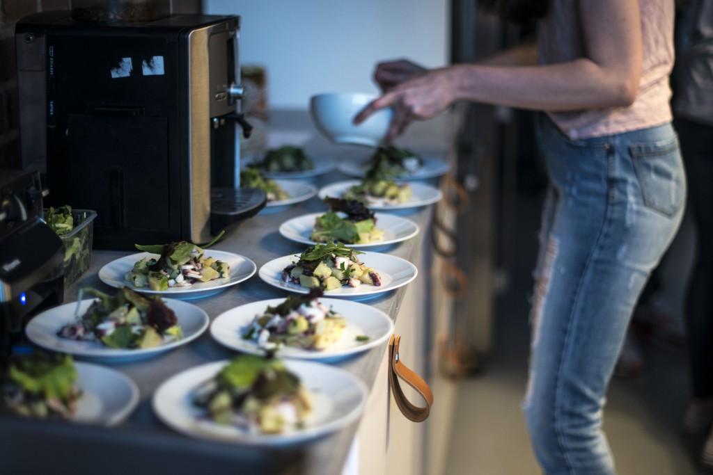 Chobotnicový salát