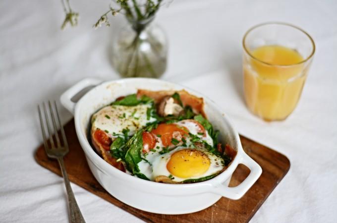 Zapečené vejce