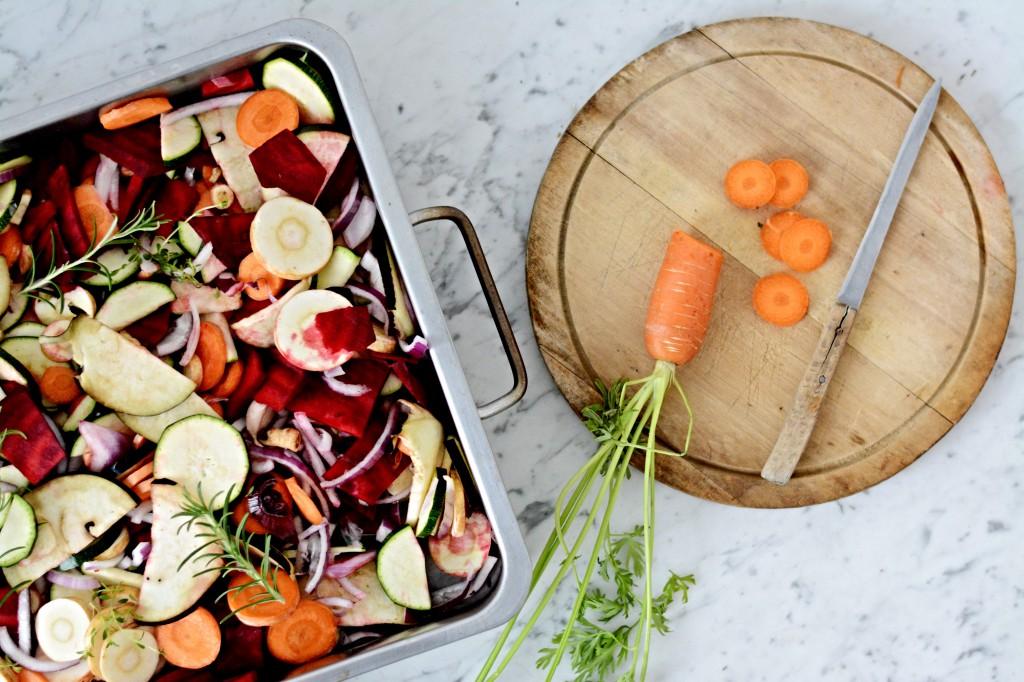 Zeleninové demi-glace