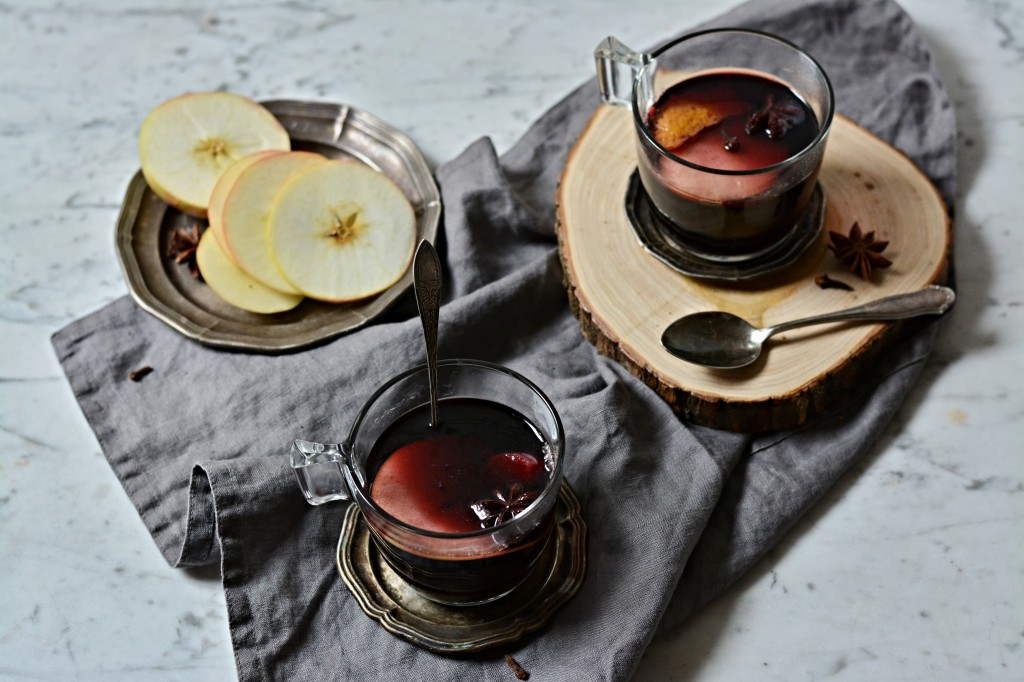 Svařené víno s brandy